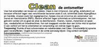 Hokontsmetter clean mogelijkheid tot vernevelen 1 liter
